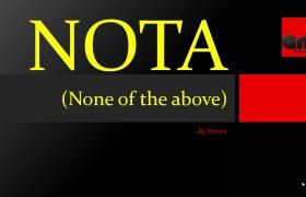 EC Removes NOTA