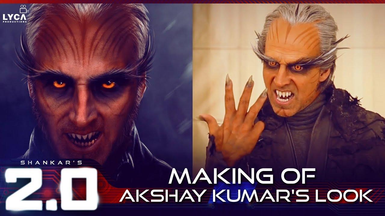 Making of Akshay Kumar Look in 2.0
