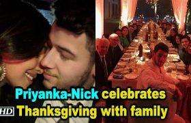 Priyanka Nick celebrates Thanksgiving
