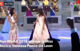 Miss Mexico Vanessa Ponce De Leon Crowned Miss World 2018