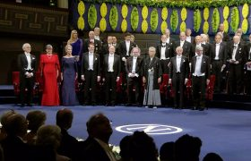 Nobel prize winners AWARDED in Stockholm