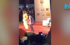 Shah Rukh Khan thumka on Bhojpuri number